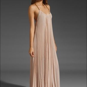 BCBG Nude/blush maxi dress